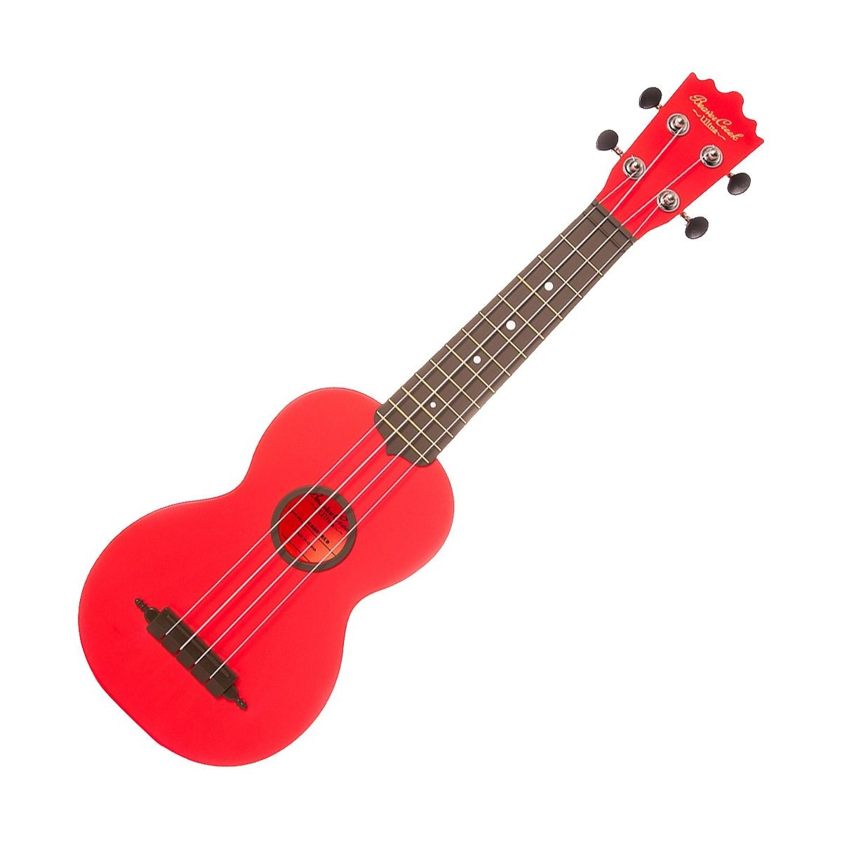 BEAVER CREEK - Ulina Soprano Ukulele - RED