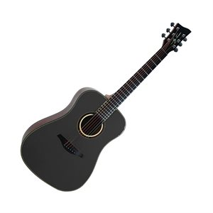 JAY TURSER - 3 / 4 Size Dreadnought - SATIN FINISH - BLACK