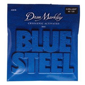 DEAN MARKLEY - Blue Steel Bass String Set - 5 strings - 45-125