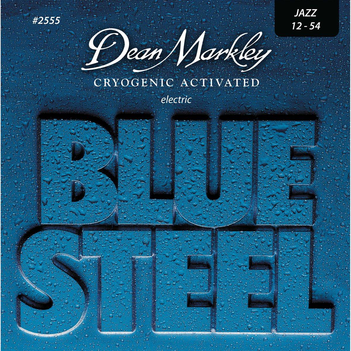 DEAN MARKLEY - Ensemble de cordes de guitare électrique Blue Steel 12-54