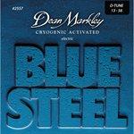 Dean Markley - Ensemble de cordes de guitare électrique Blue Steel Drop - 13-56