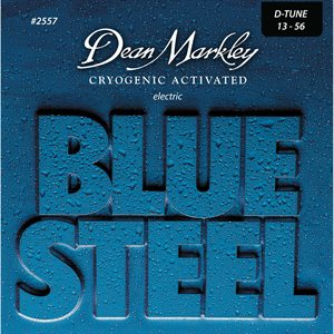 Dean Markley - Ensemble de cordes de guitare électrique Blue Steel Drop - 13-56