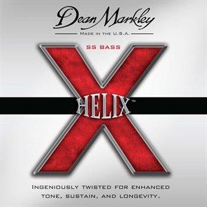 DEAN MARKLEY - Helix SS Bass Strings - 5 STRINGS - 45-128