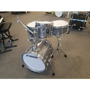 SONOR - AQ2 Safari 4-Piece Shell Pack - 16 / 13SD / 13FT / 10 - Titanium Quartz
