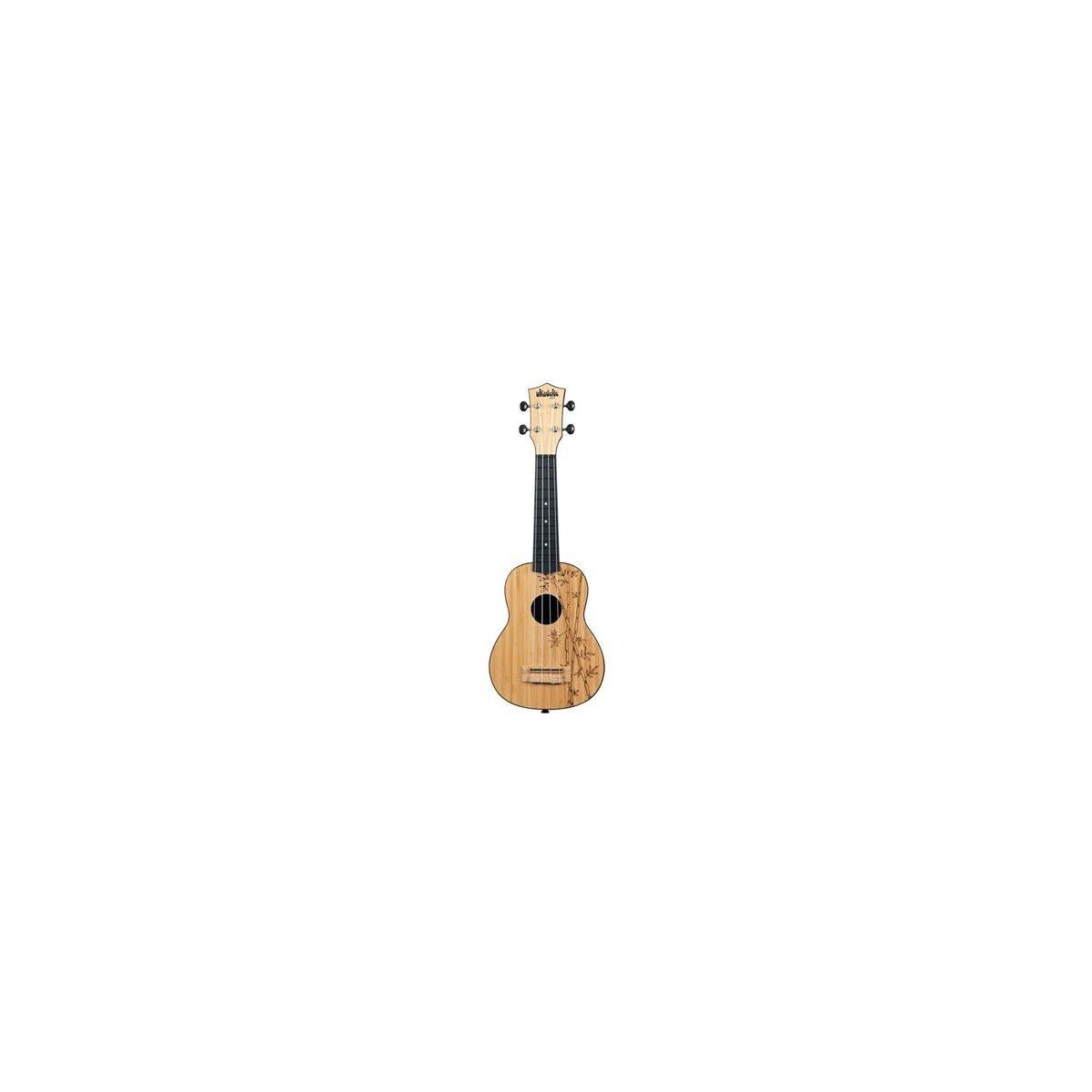 KALA - UK-BAMBOO - Ukadelic Bamboo Top Soprano Ukulele