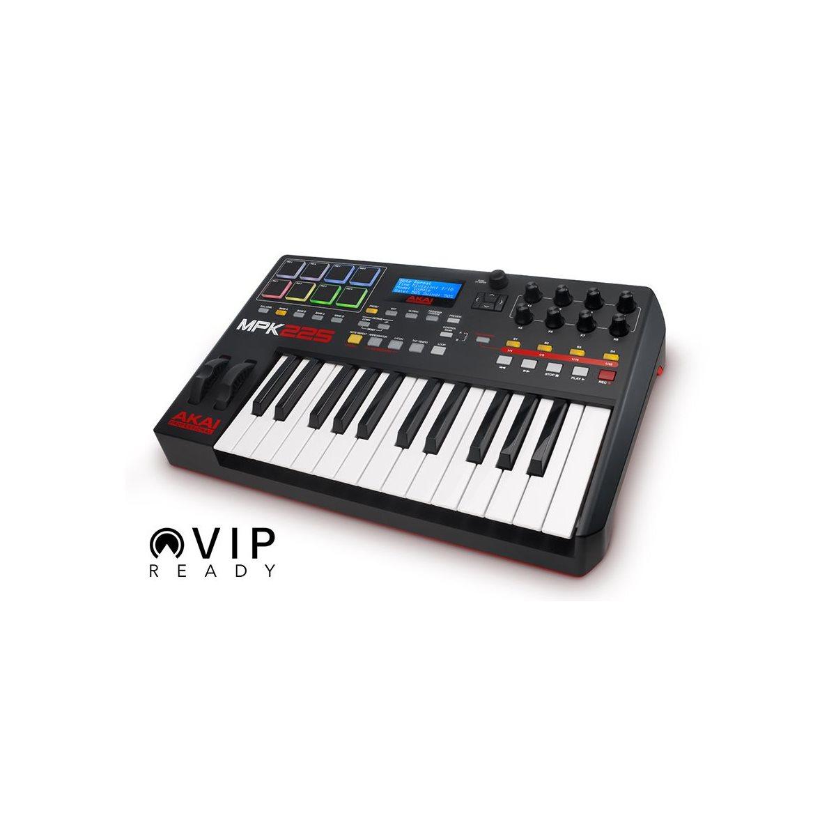AKAI - MPK225 - Compact Keyboard Controller - 25 touches