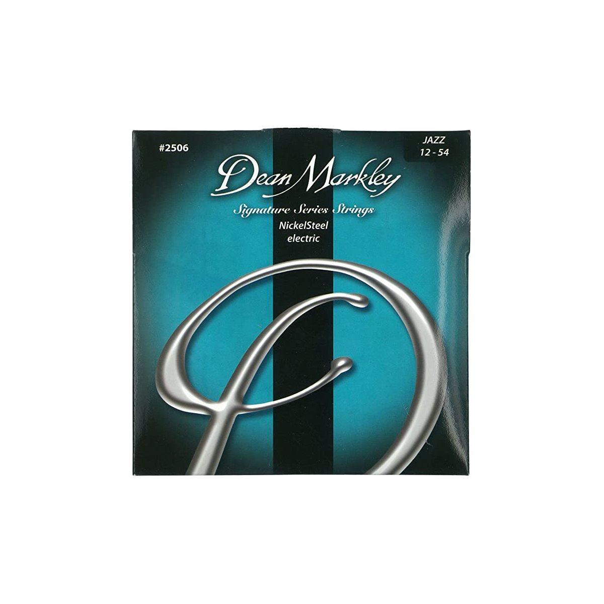 DEAN MARKLEY - ROUND WOUND Jazz Electric Guitar Strings - 12-54