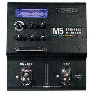 LINE6 - M5 - Stompbox Modeler Pedal