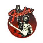 "FENDER - FENDER JIMI HENDRIX COLLECTION ""PEACE SIGN"" MAGNET"
