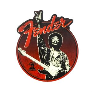"FENDER - aimant FENDER JIMI HENDRIX COLLECTION ""PEACE SIGN"""