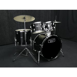 MAPEX - Tornado Rock Drum Set - Dark Black