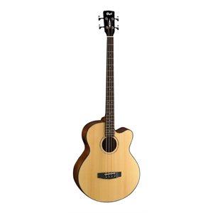 CORT - AB850F-BAG-NAT - acoustic bass guitars