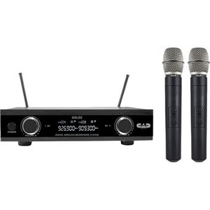CAD - GXLD2HHAI Dual Channel Wireless System - 2 microphones