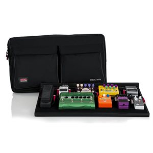 GATOR - GPTPRO-PWR - Pedal Board W / Carry Bag & Power Supply; Pro Size
