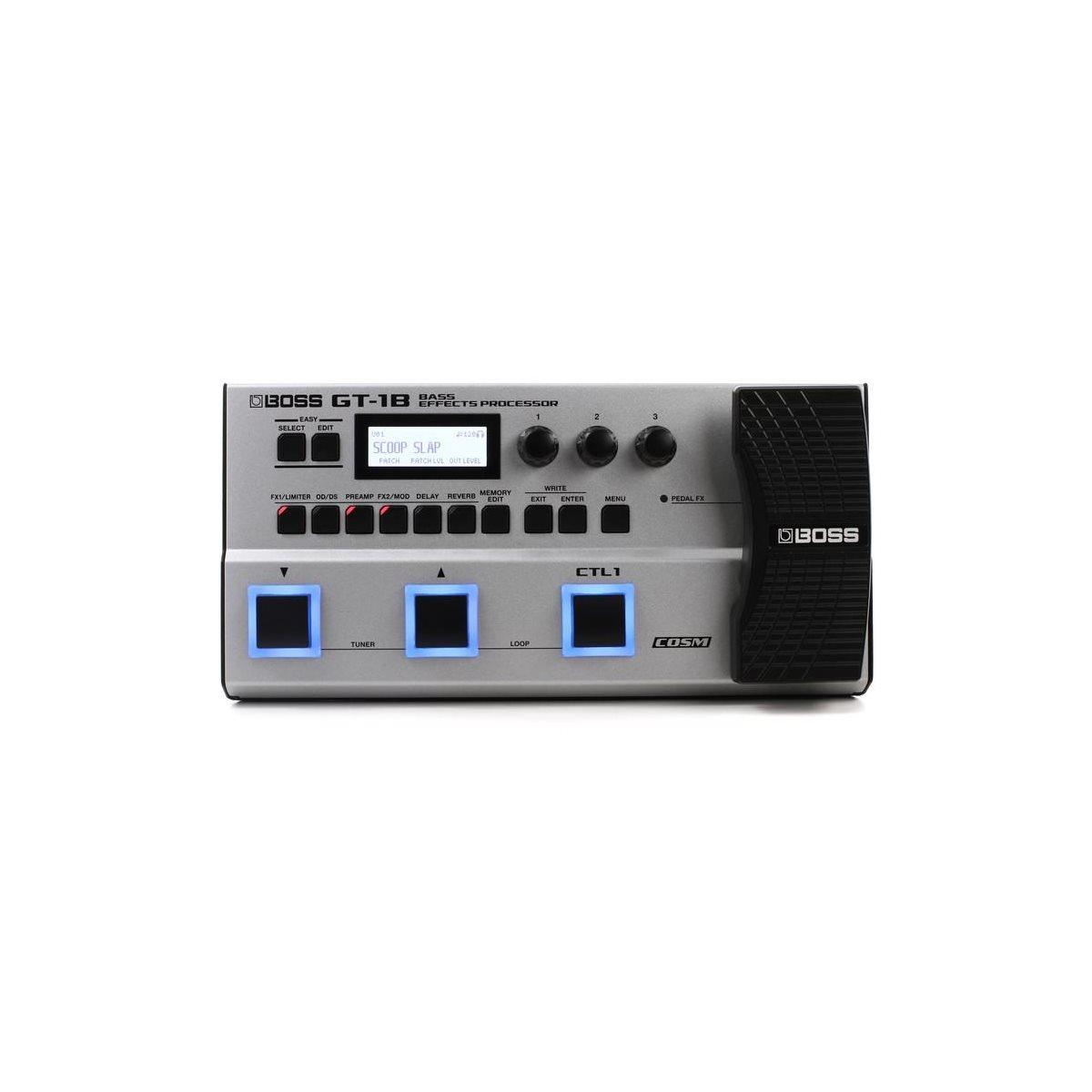 BOSS - GT-1B - Bass Effects Processor