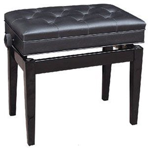 PROFILE - PPB-301C / EP - Piano Bench With Compartment Black