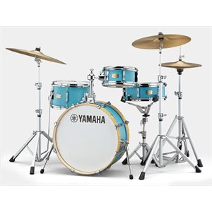 YAMAHA - Stage Custom Hip 4-Piece Kit w / Hardware - Matte Surf Green