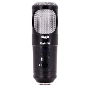 CAD - SUPER D USB BROADCAST / PODCASTING MICROPHONE - PACK