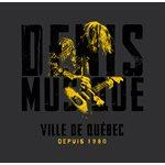 DENIS MUSIQUE - T-shirt - Guitar Logo - X Large