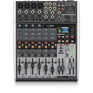 BEHRINGER - X1204USB - Xenyx X1204USB Mixer with USB and Effects and 12-Input