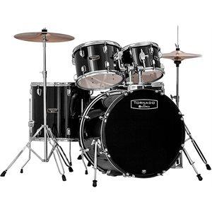 MAPEX - Tornado Rock Drum Set - Dark Black