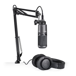AUDIO TECHNICA - AT2020USB+PK - Streaming / Podcasting Pack