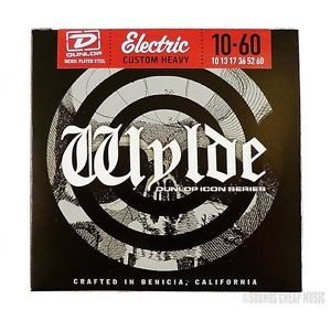 DUNLOP - Zakk Wylde Electric Strings - CUSTOM HEAVY - 10-60