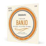 D'ADDARIO - EJ63 Nickel Wound Loop End Tenor Banjo Strings