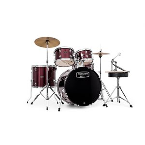 MAPEX - Tornado Rock Drum Set - Burgundy