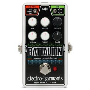 EHX - NANOBATT - Nano Battalion Bass Preamp & Overdrive
