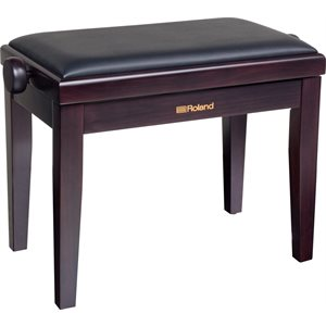 ROLAND - RPB-200RW - Piano Bench with Cushioned Seat w / rosewood finish