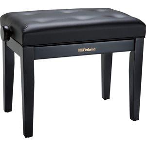 ROLAND - RPB-300BK - Piano Bench with Cushioned Seat w / Satin black finish