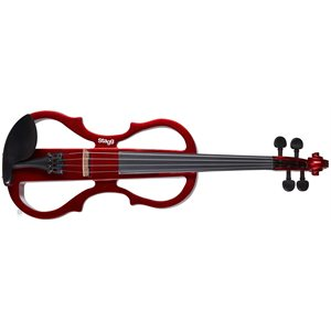 STAGG - EVN-X-4 / 4-MRD - Electric Violin Outfit - Metallic Red