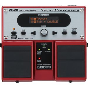 BOSS - VE-20 - Vocal Effects Processor